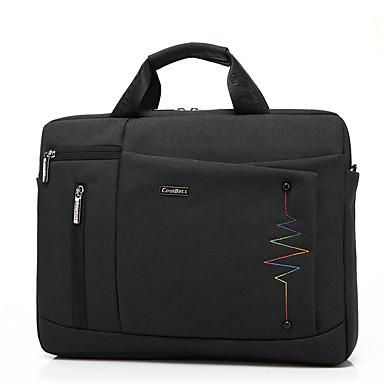Coolbell 15,6-calowy torba z komunikatywną torbą nylonową wielofunkcyjną torbę na laptopa cb-6005