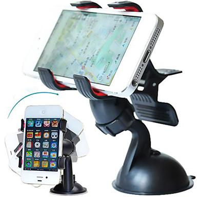Araba iPhone 5S iPhone 5 iPhone 5C Evrensel iPhone 4/4S Cep Telefonu iPhone 3G / 3GS Montaj Standı Tutucu 360° Dönüş iPhone 5S iPhone 5