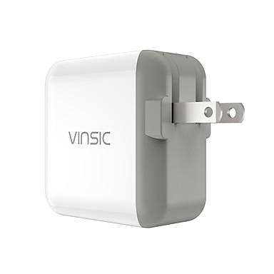 Ładowarka domowa Ładowarka przenośna Telefonowa ładowarka USB Wtyczka US Szybkie ładowanie 1 port USB 4.8A AC 100V-240V Do smartfona Do