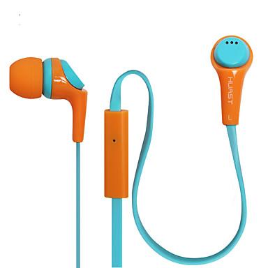 Caldecott HST-36 Kulakta Kablolu Kulaklıklar Dinamik Cep Telefonu Kulaklık Mikrofon ile kulaklık