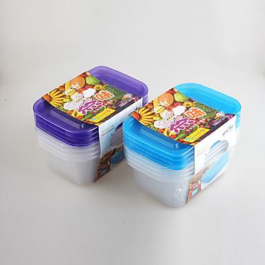 4 Keittiö Muovi Lounaslaatikot