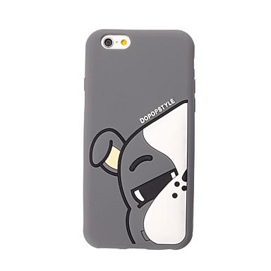 Etui Käyttötarkoitus Apple iPhone 6 iPhone 7 Plus iPhone 7 Iskunkestävä Takakuori 3D sarjakuva Pehmeä Silikoni varten iPhone 7 Plus