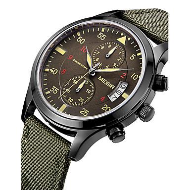 Αντρικά Αθλητικό Ρολόι Στρατιωτικό Ρολόι Ρολόι Φορέματος Μοδάτο Ρολόι Ρολόι Καρπού Ημερολόγιο Ελβετός Υψηλής Ποιότητας Χαλαζίας Ψηφιακό