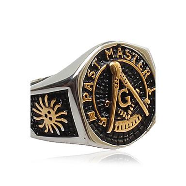 Męskie Pierscionek / Pierścień oświadczenia - Modny Gold Pierścień Na Codzienny / Casual