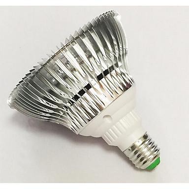 500-600lm E26 / E27 Büyüyen ampul 12 LED Boncuklar Yüksek Güçlü LED Mavi Kırmızı 85-265V