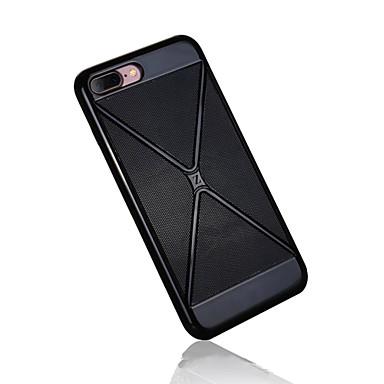 dla iPhone 7 + 7 New PC wzorem plastra miodu i etui TPU plecy skrzynki pokrywy
