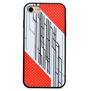 Pentru iPhone 7 iPhone 7 Plus iPhone 6 Carcase Huse Anti Șoc Model Carcasă Spate Maska Model Geometric Greu Silicon pentru Apple iPhone 7