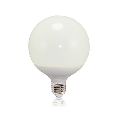 E26/E27 LED Λάμπες Σφαίρα G125 16 leds SMD 2835 Θερμό Λευκό 1050lm 2700