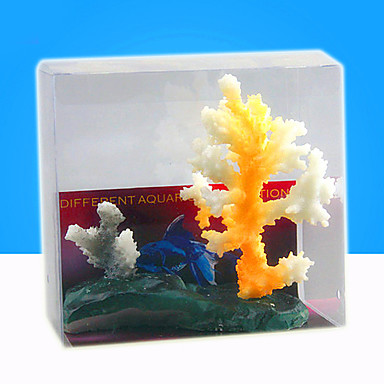 Decorațiune pentru Acvariu Coral Iluminat Reșină