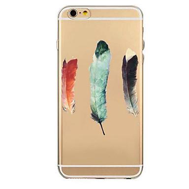 Pentru Carcasă iPhone 7 iPhone-7 Plus Carcasă Carcasă iPhone 6 Carcase Huse Ultra subțire Model Carcasă Spate Maska Pană Moale TPU pentru