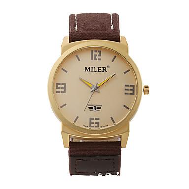 Bărbați Ceas Sport Ceas Elegant Ceas La Modă Ceas de Mână Quartz Material Bandă Charm Casual Multicolor