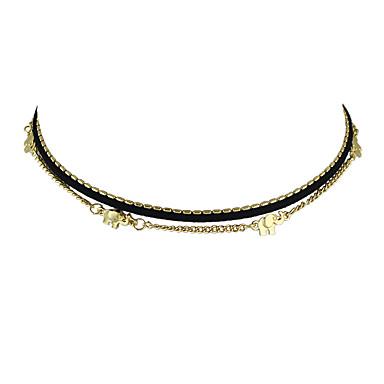 نساء قلادات ضيقة سبيكة أساسي مجوهرات من أجل فضفاض