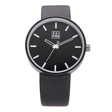 Erkek Bilek Saati Elbise Saat Moda Saat Spor Saat Quartz Büyük indirim Gerçek Deri Bant İhtişam Günlük Çok-Renkli