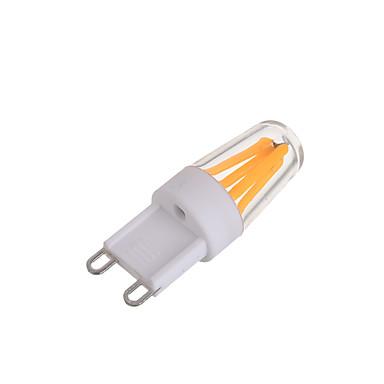 G9 Żarówki LED bi-pin T 4 Diody LED COB Dekoracyjna Ciepła biel Zimna biel 200 AC 220-240V