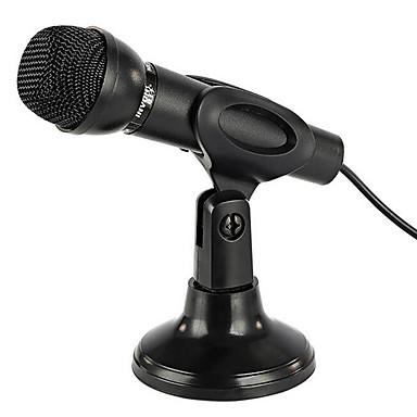 NO Langallinen Karaoke-mikrofoni 3,5mm Musta