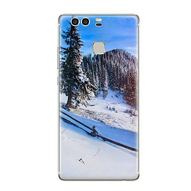 Kılıf Na Huawei P9 Huawei P9 Lite Huawei P8 Huawei Huawei P9 Plus Huawei P8 Lite Wzór Czarne etui Krajobraz Miękkie TPU na Huawei P9 Plus