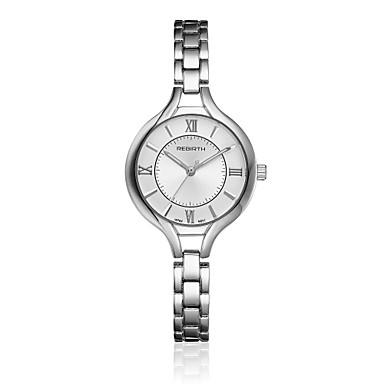REBIRTH Pentru femei Ceas Elegant Ceas La Modă Ceas de Mână Quartz Aliaj Bandă Vintage Casual Elegant Argint Auriu
