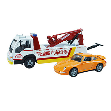 Oyuncak Arabalar Oyuncaklar Inşaat Aracı Ambulans Aracı Oyuncaklar İçeri Çekilebilir Kamyon ABS Plastik Metal Klasik & Zamansız Şık &