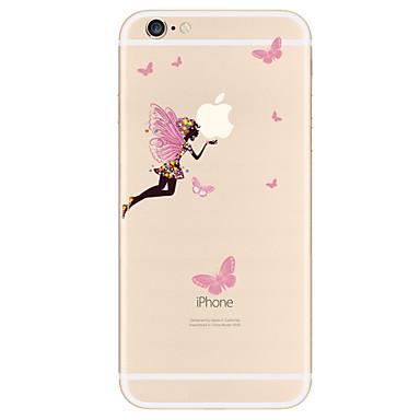 tok Για Apple iPhone X iPhone 8 Plus iPhone 7 iPhone 6 Θήκη iPhone 5 Με σχέδια Πίσω Κάλυμμα Σέξι κυρία Μαλακή TPU για iPhone X iPhone 8
