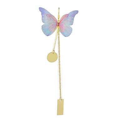 Kolczyki wiszące Stop Niebieski Biżuteria Na Casual 1 para