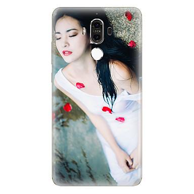 Για Με σχέδια tok Πίσω Κάλυμμα tok Σέξι κυρία Μαλακή TPU για Huawei Huawei Mate 9 Huawei Mate 8