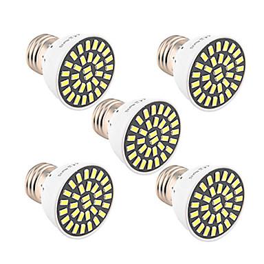 5pcs 5W 500-600 lm E26/E27 Spoturi LED T 32 led-uri SMD 5733 Decorativ Alb Cald Alb Rece 6500K AC 85-265V