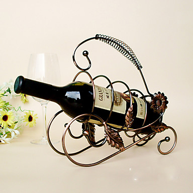 Półki na wino Żeliwo,22*15*34CM Wino Akcesoria