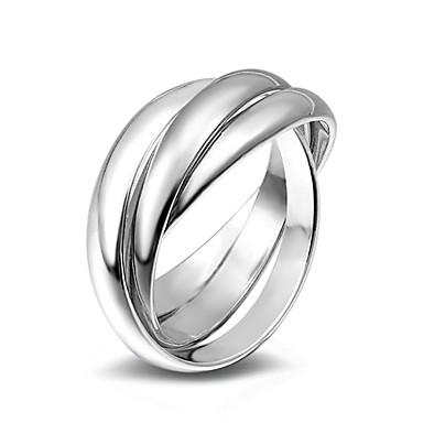 للمرأة خاتم عصابة الفرقة موضة سبيكة Circle Shape مجوهرات زفاف حزب مناسبة خاصة يوميا فضفاض