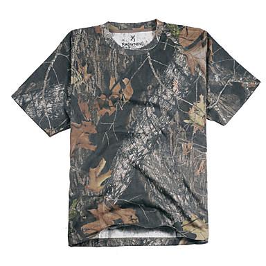 للجنسين T-skjorte الصيد يمكن ارتداؤها متنفس صيف