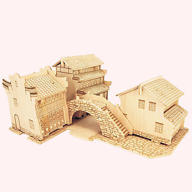 Puzzle Lemn Clădire celebru / Arhitectura Chineză / Casă nivel profesional De lemn 1 pcs Băieți Cadou