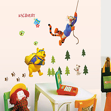 Διακοσμητικά αυτοκόλλητα τοίχου - Αεροπλάνα Αυτοκόλλητα Τοίχου Ζώα / Μόδα / Κινούμενα σχέδια Σαλόνι / Υπνοδωμάτιο / Τραπεζαρία