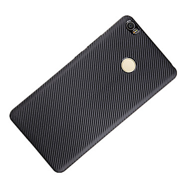 Varten Iskunkestävä Etui Takakuori Etui Yksivärinen Pehmeä Hiilikuitu varten XiaomiXiaomi Mi Max Xiaomi Redmi 3 Xiaomi Redmi Note 3