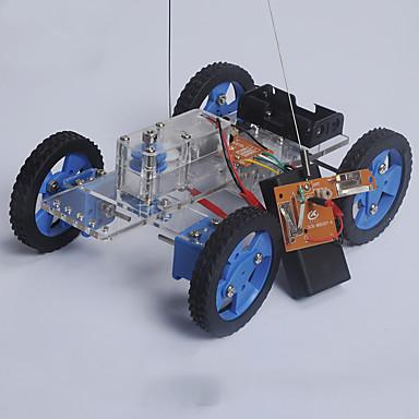 rák királyság váltó kormánymű autó modell 81 merített játékok DIY összeszerelés anyagok csomag