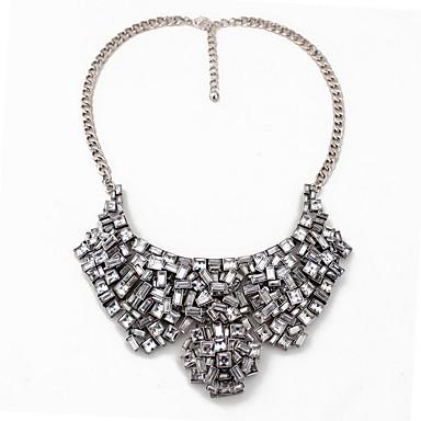 Damskie Oświadczenie Naszyjniki Biżuteria Biżuteria Kamień szlachetny Stop Modny Osobiste euroamerykańskiej Wielowarstwowy Europejski