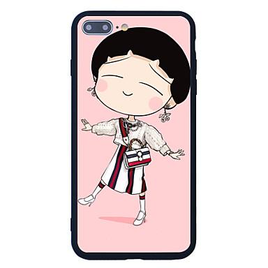 Için Temalı Pouzdro Arka Kılıf Pouzdro Karikatür Sert Akrilik için AppleiPhone 7 Plus iPhone 7 iPhone 6s Plus/6 Plus iPhone 6s/6 iPhone