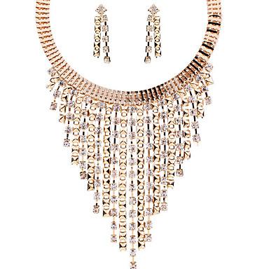 Dame Seturi de bijuterii Cercei Rotunzi  Coliere cu Pandativ Bijuterii Lux Design Unic Stil Atârnat Adorabil Modă European