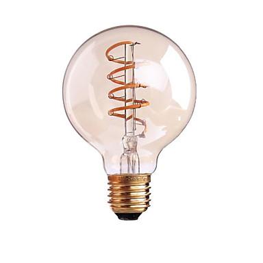 ondenn 1pc 4w 400 lm b22 e26 / e27 led المصابيح الشعيرة g80 1 cob عاكس الضوء الأبيض الدافئة ac 220-240v 110-130v ac