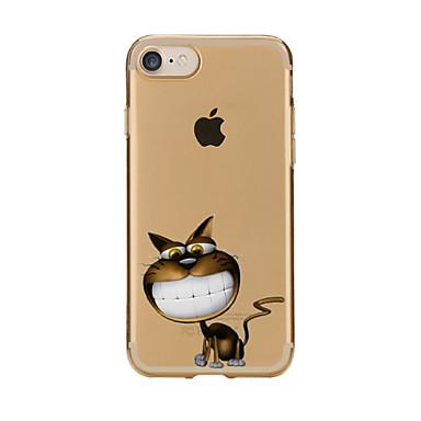 إلى شفاف نموذج غطاء غطاء خلفي غطاء كرتون ناعم TPU إلى Apple فون 7 زائد فون 7 iPhone 6s Plus/6 Plus iPhone 6s/6 iPhone SE/5s/5 iPhone 5c