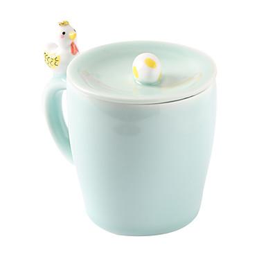 Yenilikçi Bardak Takımı, 300 ml BPA içermez Seramik Çıplak Süt Kahve Kupaları Seyahat Kupaları