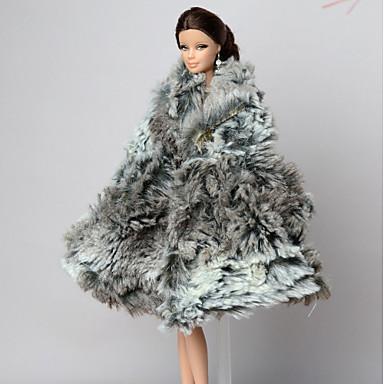 Enemmän lisävarusteita varten Barbie-nukke Takki varten Tytön Doll Toy