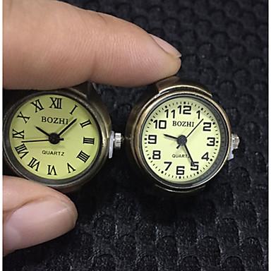Αντρικά Ρολόι Δαχτυλίδι Χαλαζίας κράμα Μπάντα Απίθανο Καθημερινά Μπρονζέ Μπρονζέ