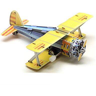 Samochodziki do zabawy Klocki Zabawki 3D Puzzle Samolot Myśliwiec 3D Zabawa Urodziny Klasyczny