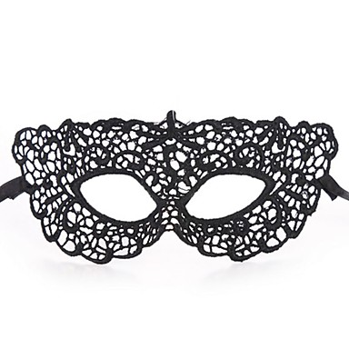 seksowne kobiety czarne koronki maskarada Halloween Maska Halloweenowa akcesoria prop Cosplay