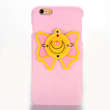Varten Peili DIY Etui Takakuori Etui Perhonen Kova Tekstiili varten AppleiPhone 7 Plus iPhone 7 iPhone 6s Plus iPhone 6 Plus iPhone 6s