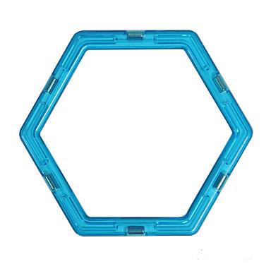 Magneettilelut Magneettilelut Rakennuspalikat Magneettinen lohko Magneettiset laatat Opetuslelut 1pcs ABS Tyylikästä ja modernia Magneetti