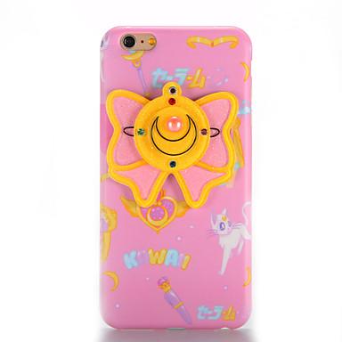 Pentru IMD Oglindă Reparații Maska Carcasă Spate Maska Fluture Moale TPU pentru AppleiPhone 7 Plus iPhone 7 iPhone 6s Plus iPhone 6 Plus
