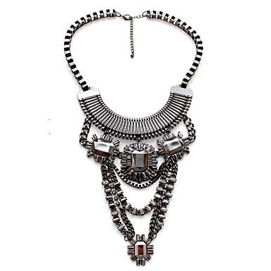 Damskie Oświadczenie Naszyjniki Biżuteria Biżuteria Kamień szlachetny Stop euroamerykańskiej luksusowa biżuteria Europejski Modny Osobiste