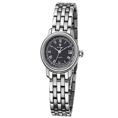 Erkek Moda Saat Quartz / Alaşım Bant Günlük Gümüş