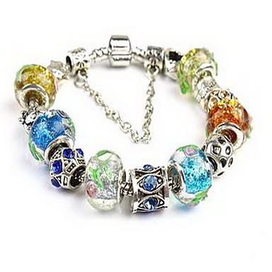 Zincir & Halka Bileklikler Doğa Moda Kristal Mücevher Mücevher Uyumluluk Parti Doğumgünü