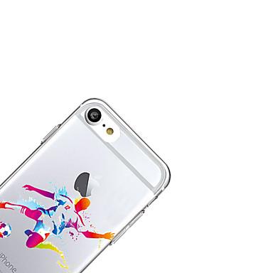 Cartoni Custodia Plus Transparente Ultra per 7 05639595 posteriore 7 sottile 6s Apple Morbido iPhone animati TPU Plus Custodia iPhone iPhone Per 46r04nA